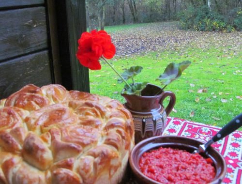 Traditional food in Bulgaria