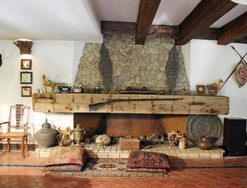 kitchen in traditional Bulgarian home