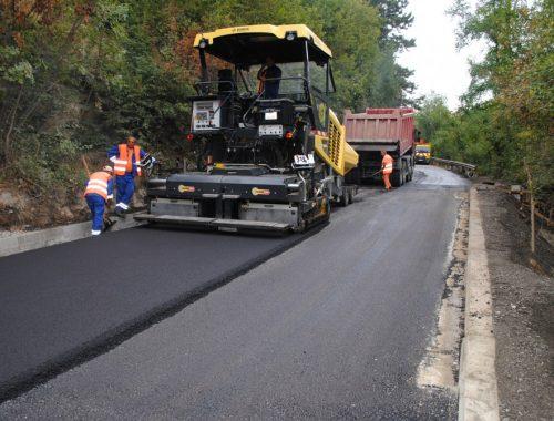 Veliko Tarnovo-Arbanasi road reconstruction