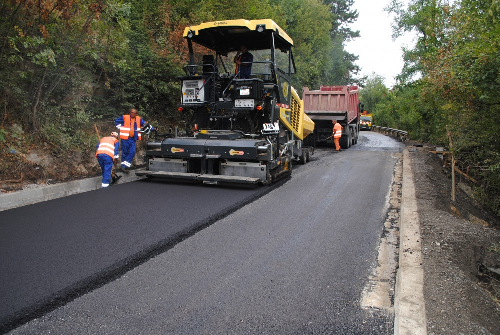 Veliko Tarnovo-Arbanasi road reconstruction