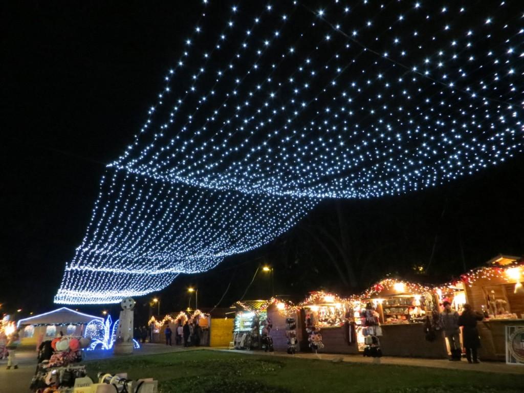 Veliko Tarnovo holiday season decoration