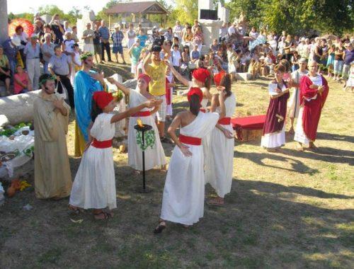 Roman festival near Veliko Tarnovo