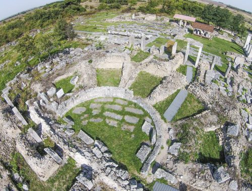 "The Roman city near Veliko Tarnovo Nicopolis ad Istrum joined the national movement ""The 100 National Sights"""