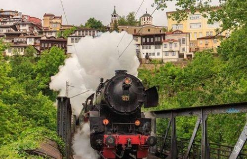 Veliko Tarnovo host royal train