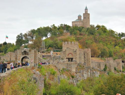 Pedestrian tour for the 110th anniversary of the Independence in Veliko Tarnovo