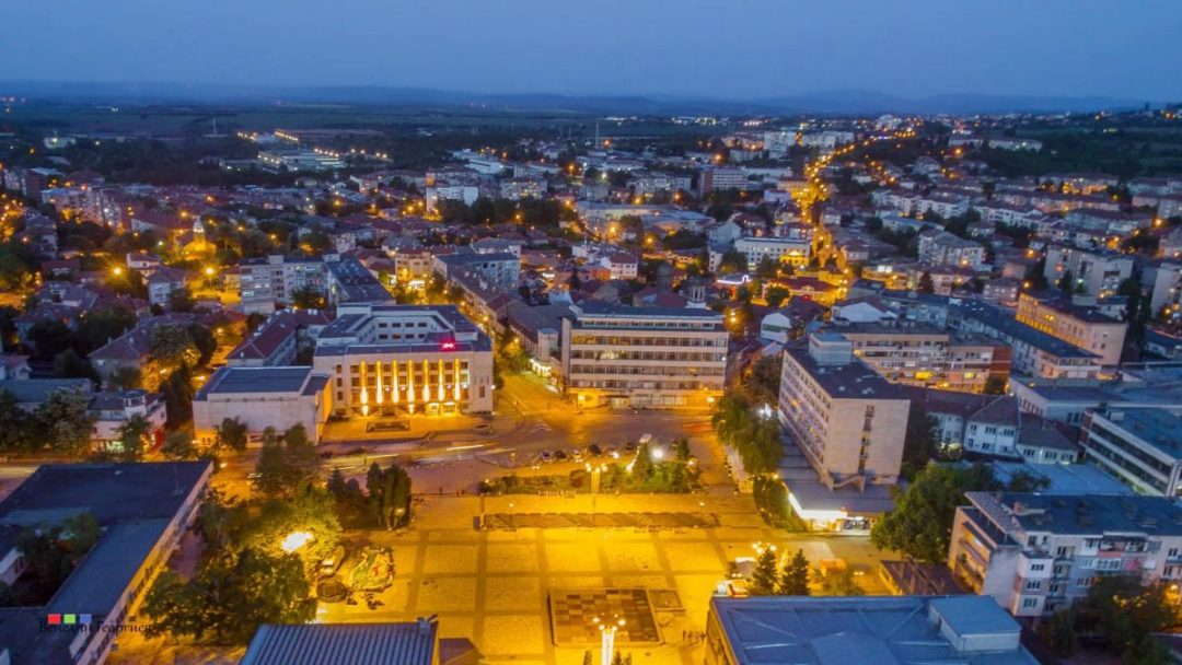 Gorna Oryahovitsa with a new city Centre