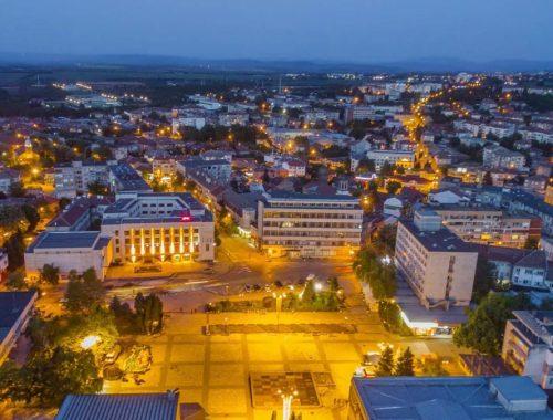 Gorna Oryahovitsa with a new city Centre