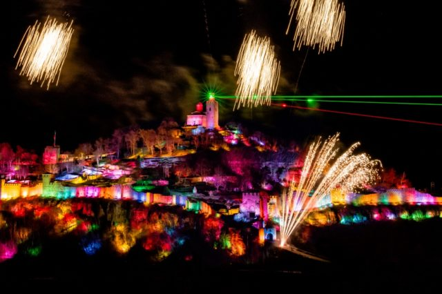 3 free performances of the Sound and Light show will take place in December in Veliko Tarnovo