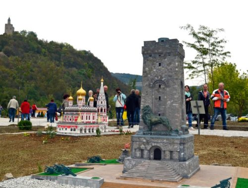 The Miniature park Mini Bulgaria in Veliko Tarnovo with 4 new models for the city's holiday