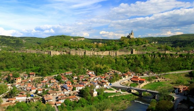 Veliko Tarnovo is officially the historical and spiritual capital of Bulgaria