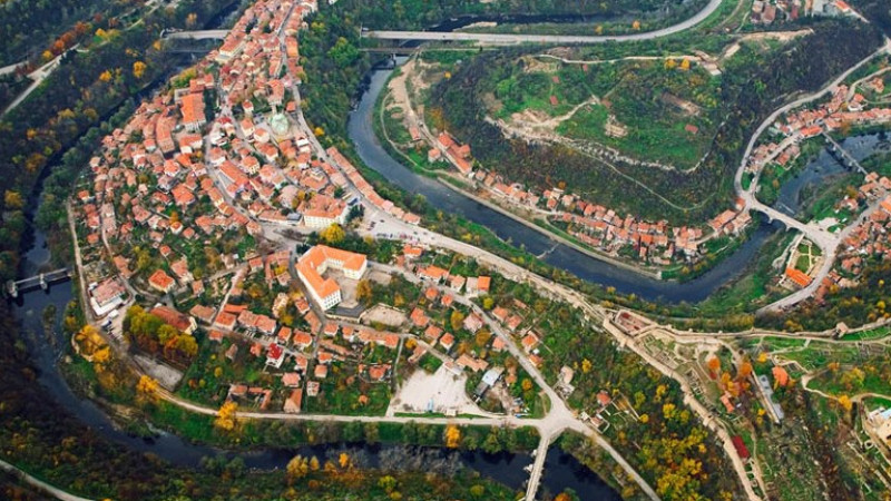 Veliko Tarnovo might soon have its very own coastal street along Yantra River