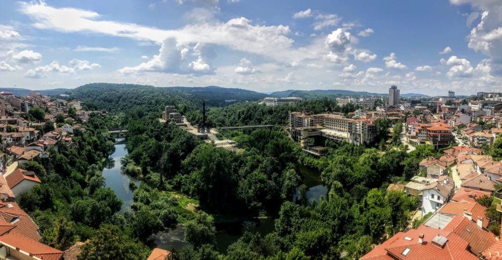 The Municipality of Veliko Tarnovo with a live streaming camera