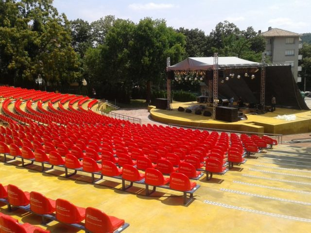Summer theatre in Veliko Tarnovo, Bulgaria