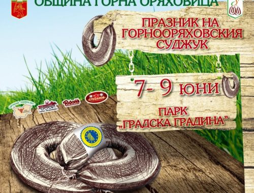 3D mapping and more at the Fest of the Gorna Oryahovitsa Sudzhuk near Veliko Tarnovo