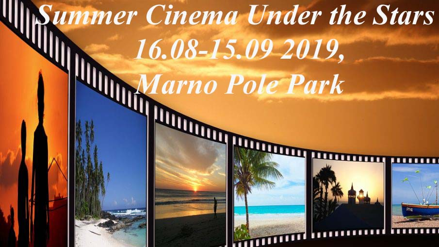 Summer Cinema Under the Stars in Veliko Tarnovo with 17 movie titles