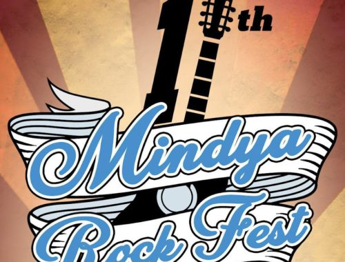 International and local groups at Mindya Rock Fest near Veliko Tarnovo