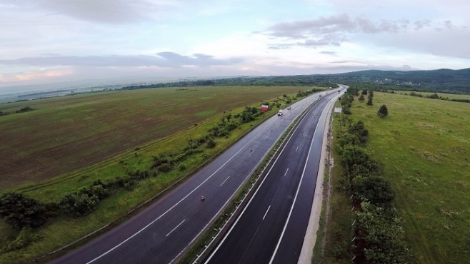 Big extension of the road to Momin Sbor because of the new Ruse-Veliko Tarnovo highway