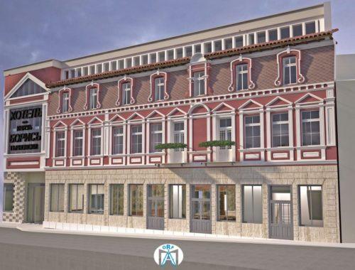 Restoration of the oldest hotel in Veliko Tarnovo - Tsar Boris has started