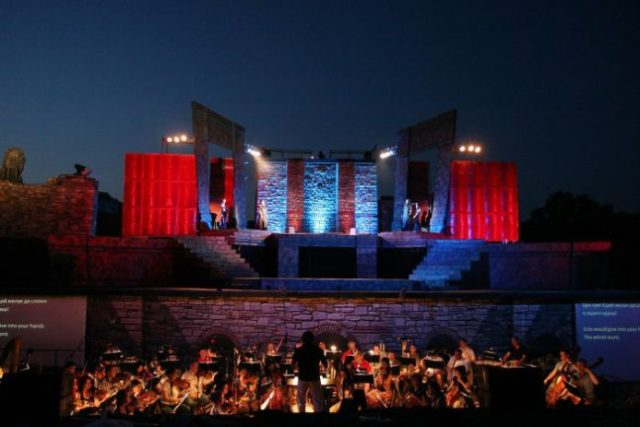 "Opera under the summer sky in ""Stage of the Ages"" at the Tsarevets Fortress"
