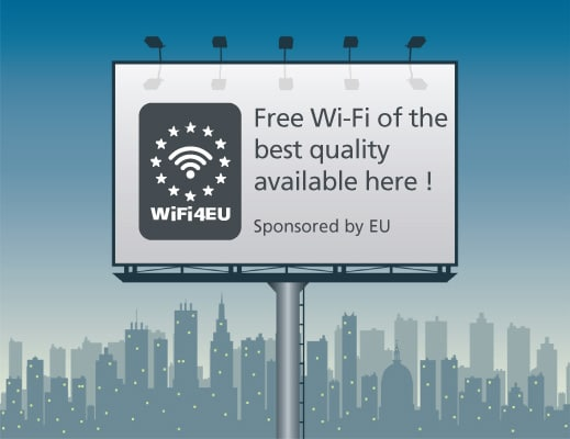 1Free internet in six public places in the town of Elena thanks to WiFi4EU