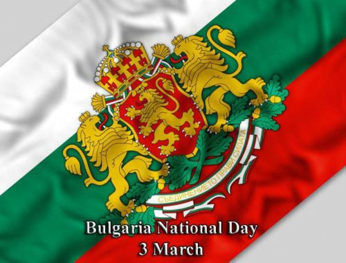 Celebrations for the national holiday March 3rd in Veliko Tarnovo