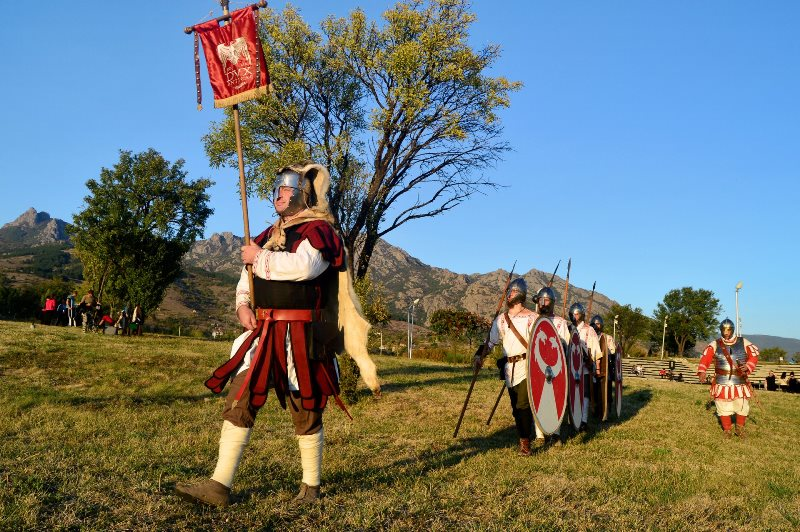 "A Medieval camp will attract visitors to the miniature park ""Mini Bulgaria"""