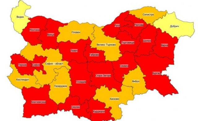 A new increase in the numbers of coronavirus infected in Bulgaria