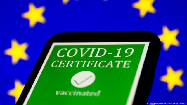"""A """"green certificate"""" is needed to enter almost all establishments in Bulgaria"""