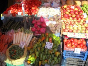 You can buy fresh produce from the Farmers' Market located in the centre of Veliko Tarnovo